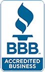 Accredited business with the better business bureau