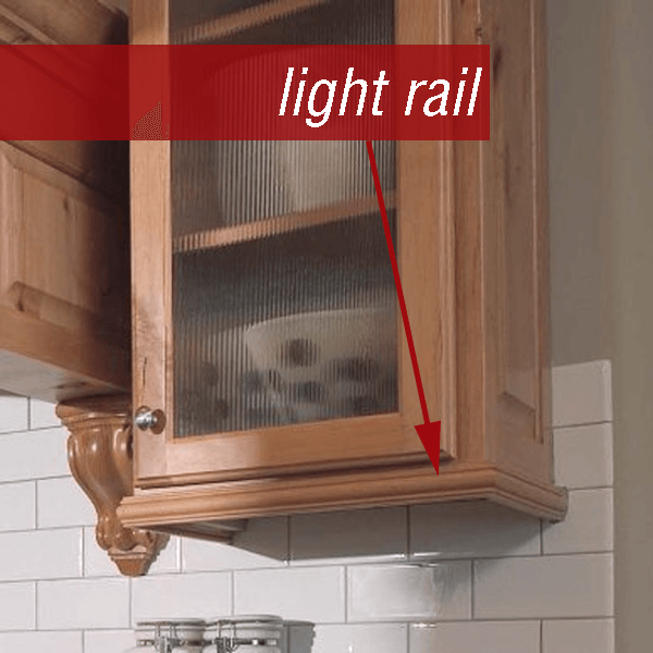 What is light rail molding?